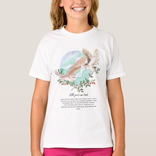 OWLS Personalized T-Shirt