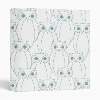 OWLS PLETHORA Binder