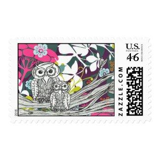 Owls postage Stamps stamp
