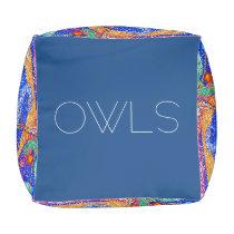 Owls Pouf