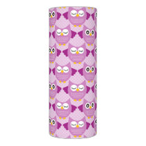 Owls - Purple Flameless Candle