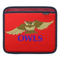 OWLS red i-pod sleeve