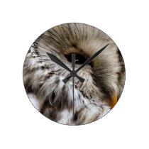 OWLS ROUND CLOCK