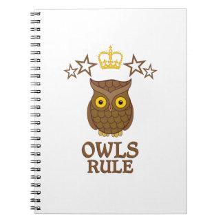 Owls Rule Notebook