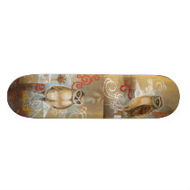 Owls Skateboard Deck