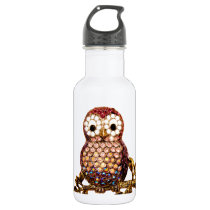 Owls Stainless Steel Water Bottle