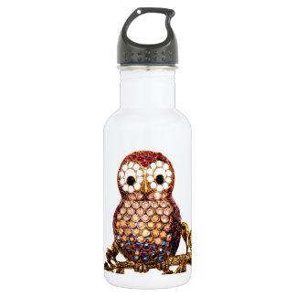 Owls Stainless Steel Water Bottle