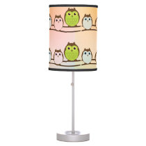 Owls Table Lamp