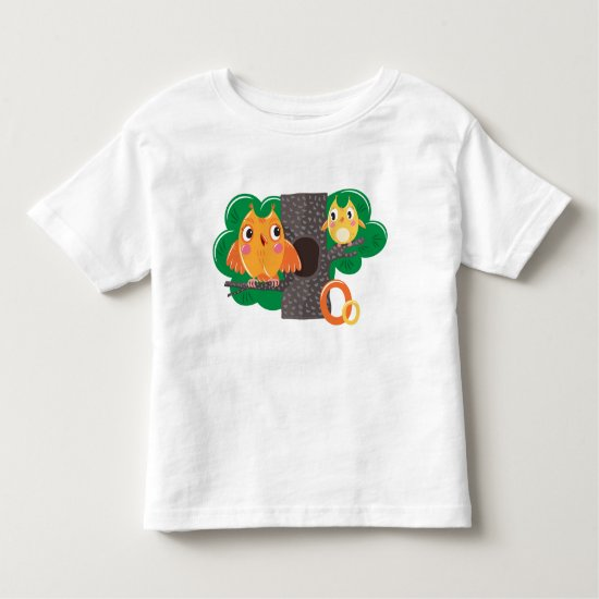 Owls Toddler T-shirt