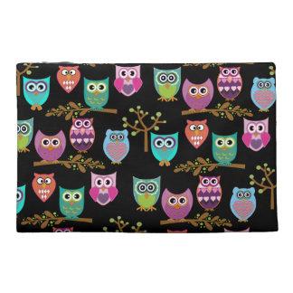 owls travel accessory bag