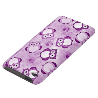 Owls Wallpaper purple iPod Touch Cases