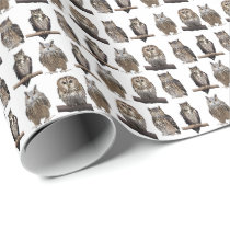 Owls Wrapping Paper