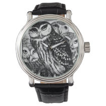 Owls Wristwatch