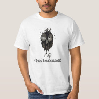 Owlsome - Awesome Funny Owl Saying T-Shirt