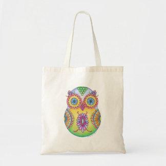 'Owlushka' Blossom Budget Tote Bag