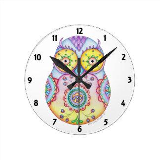 Owlushka Bright Eyes Clock