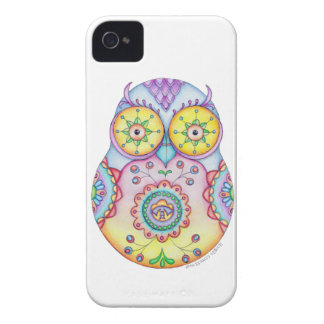 Owlushka Bright Eyes iPhone 4 Case