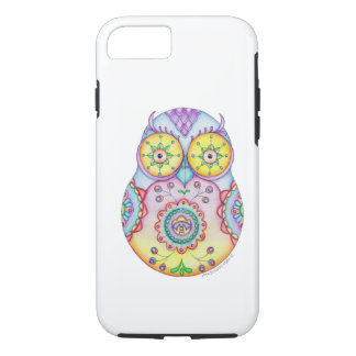 Owlushka Bright Eyes iPhone 7 Case