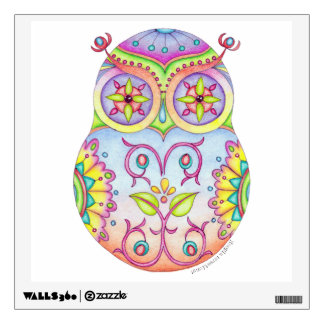 Owlushka 'Dreaming' Wall Decal