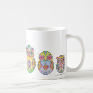 'Owlushka' Family Classic White Coffee Mug
