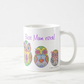 'Owlushka' Family Mugs
