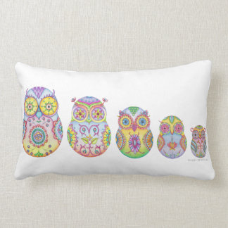 Owlushka Family pillow