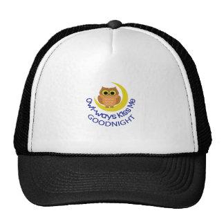 OWLWAYS KISS ME TRUCKER HAT