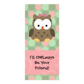 OWLways seré su amigo Tarjeta Publicitaria A Todo Color