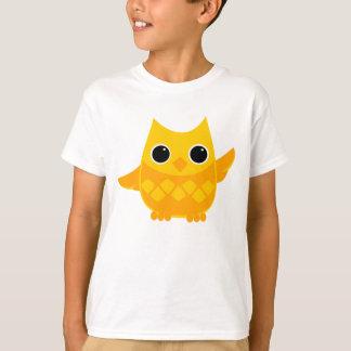 Owly amarillo playera
