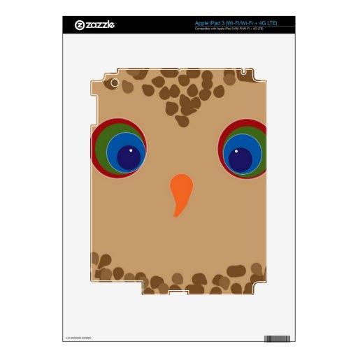 Owly iPad 3 Skins