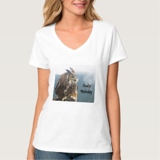 Owly Monday Women's Shirt