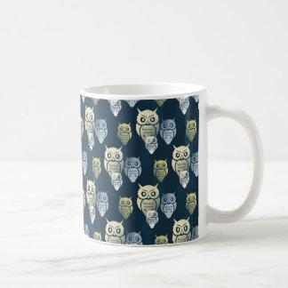 Owly Pattern Coffee Mug