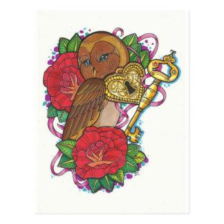 Owly Postcard