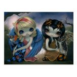 """""""Owlyn and Robyn"""" Postcard"""
