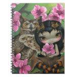 """""""Owlyn en cuaderno de la primavera"""""""