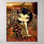 Owlyn en la hada Halloween del búho de la IMPRESIÓ Impresiones