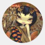 """""""Owlyn en pegatina del otoño"""""""