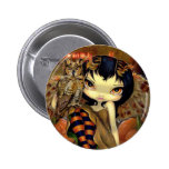 """Owlyn in Autumn"" Button"
