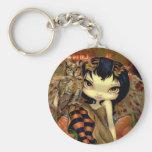 """Owlyn in Autumn"" Keychain"