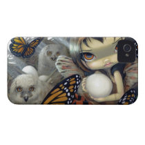"""""""Owlyn in the Nest"""" iPhone 4 Case"""