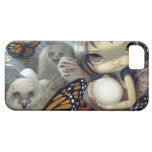 """""""Owlyn in the Nest"""" iPhone 5 Case"""