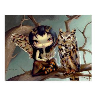 """""""Owlyn"""" Postcard"""