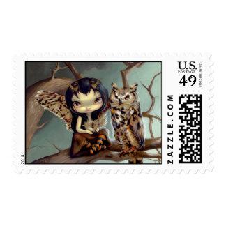 """""""Owlyn"""" Stamp"""