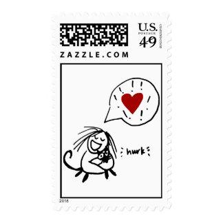 Owly's Choco Hug Stamp