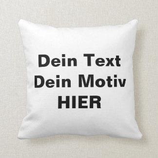 Own cushion arrange
