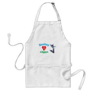 Own destiny adult apron