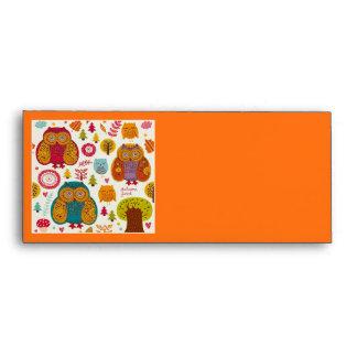 Own envelopes for Thanksgiving