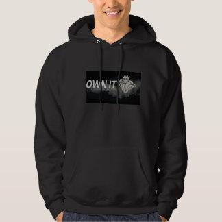 Own It Mens Logo Hoodie