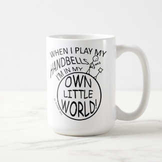 Own Little World Handbells Coffee Mugs