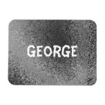 Own Name Shades of Gray Premium Magnet